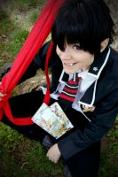 Ao no Exorcist: Hey there! by NorFrosch
