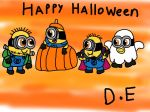 Despicable Me Halloween 2014 by DanielaEspinoza19