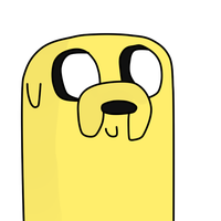 Adventure time: Jake-Le-Dog by KevenNomNomsYourArt