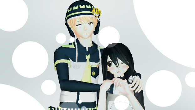MMD Art Trades:Noiz and Jessica by keilysuzuki