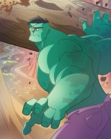 Hulk Smash Tree by Bloodzilla-Billy