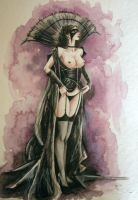 sketch - luis royo by kittrose