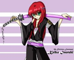 Keiko Inuruki-- Bleach OC by Pyro-Productions