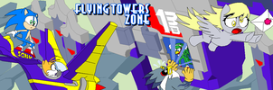 Flying Towers Zone by Tyrranux