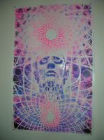 Alex Grey Poster by MetalKenji