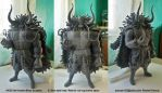 KAIDO the Hundred Beast - 1st Sculpture by artstain