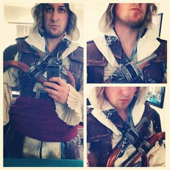 Edward Kenway WIP by Forcebewitya