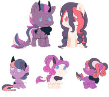 Nightshade x Peppermint Dream .:OPEN:. by CocoaAdopts