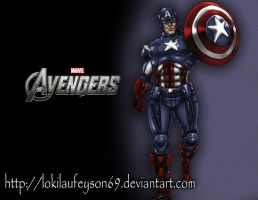 Captain America The First Avenger  by lokilaufeyson69