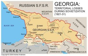 Georgia under Soviet rule 1921 - 1941 by Vah-Vah