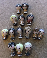 Shingeki no Charms by Snuckledrops