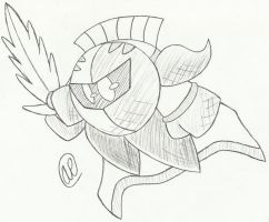 Meta Knight Strike by AgentPowerStrike