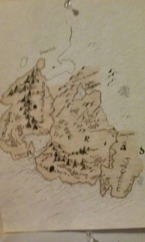 lord of the rings map by bacriswell2