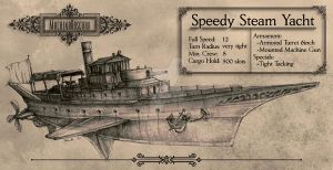 Steam Yacht by Machina-Obscura
