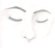 Face- close up sleeping by darkflower8923
