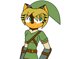 becky as link by LethalWeapon07