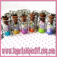 Rainbow Jar Full Of Stars by SugarAndSpiceDIY