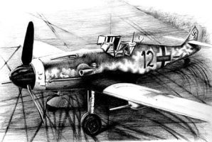 Me 109 by Azotos