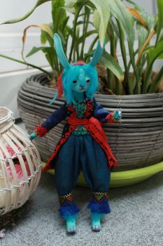 Blue Bunny 1 by l-heure-du-the