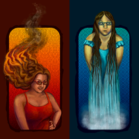 Fire + Water by ctrl-alt-delete