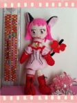 Mew Ichigo Plushie (FOR SALE) by CocoaSama