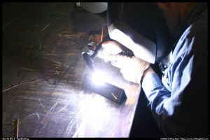 Oh Noes, I'm tig welding. by JBail