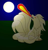 a ninetails for aikachan21 by hero-of-time