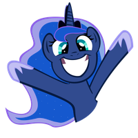Luna S2 cheer by PartTimeBrony