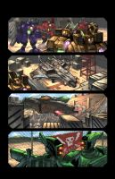 Robots Comic Test Page by ChanpART