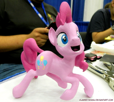 Pinkie Pie 3D Print [Bronycon] by Clawed-Nyasu
