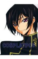 Code Geass Lelouch Costume for Cosplay by meganpu