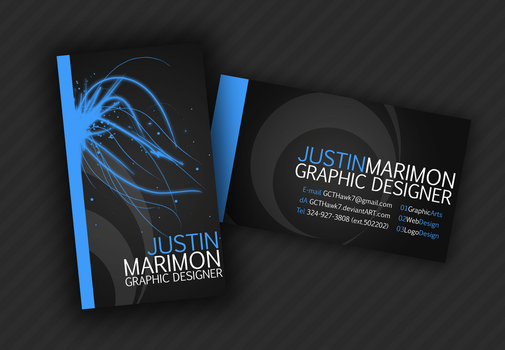 Business Card by JustMarDesign