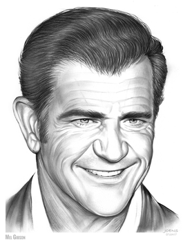 Mel Gibson by gregchapin