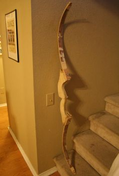 Recurve Bow Assembled 2 by phrostie