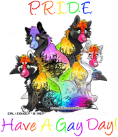 Pride - Have a Gay Day. by CalicoWoolfe