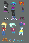 Equestria Girls Outfit Ideas by TheCheeseburger