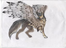 A Scanner Wolf by shilo11