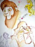The lion king Sketch by Beyamin