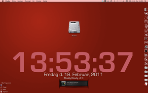 Red Desktop by RazedCreations