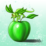 Applely Dragon by Aniseth-LightWing