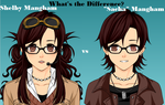 Both Sides of the Same Person by JapaneseRedWolf