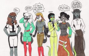 B.B's Wives Get the Swapping Treatment by 13foxywolf666