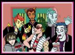 Monster High: Boys Colored by I-heart-Link