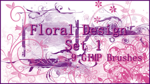 GIMP Floral Design 1 by Illyera