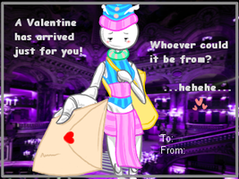 Valentine Card: Parcel Mistress by SkooIsCoo