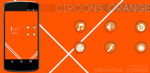 Circons Orange by sammyycakess