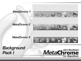 Metachrome Backgrounds by weboso