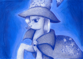 The Great and Powerfull Trixie by suzie-chan