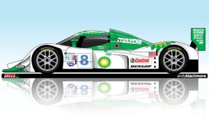 Lola Mazda ALMS Coupe by andyblackmoredesign