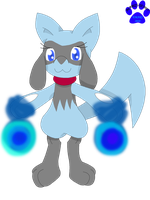 GA: Aura the Riolu by Marquis2007